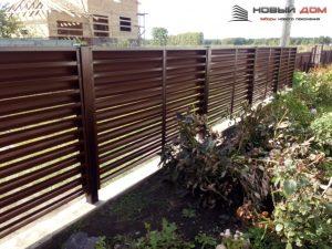 Купить забор жалюзи в Казани